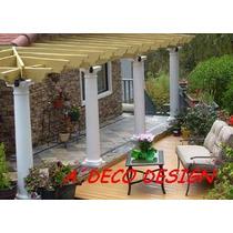 Columna Cemento Toscana Lisa 2.05 Fabrica