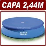 Capa De Proteção Cobertura P/ Piscina Inflável 2,44m - Intex