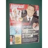 Revista Paparazzi 160 Cacho Castaña Granata Luis Miguel