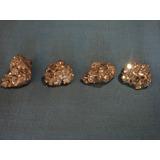 Mineral Roca. Cristales De Pirita De Hierro