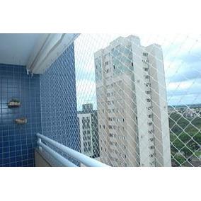 Red Malla De Tanza Transparente Seguridad Proteccion Balcon