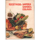Recetario Savora - Savoril - Colman