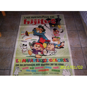 Afiche Original De Las Aventuras De Hijitus