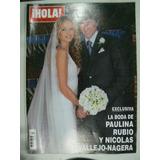 Revista Hola N 3277 Boda Rubio En La Ciudad De La Plata
