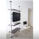 mueble soporte lcd giratorio