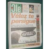 Diario Ole 22/9/98 Velez Lanus Estudiantes Newells River