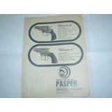 Publicidad 1973 Armeria Italiana Arma Pasper Bagual 6 Revolv