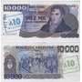 Billete 10.000 Pesos Argentinos Sobrecarga 10 Bottero 2713