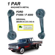 Par Manivela Levantar Vidro Caminhão Ford F350 F1000 F4000