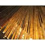 Cañas De Bambu Quemadas Jardin Hogar Tierra Macetas Grandes