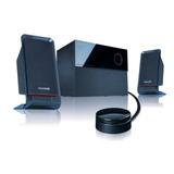 Parlantes Multimedia Microlab M 200 40w Subwoofer 2.1