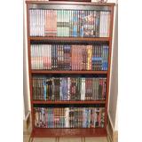 Biblioteca Mueble Estantes Porta Dvd Blu Ray Ps4 152 Unid