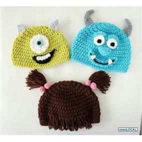 Gorros Tejidos A Crochet De Personaje Y Animales Bebes Y Niñ