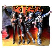 Banda Kiss - Escultura Em 3d - Album Destroyer - Ed Limitada