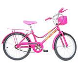 Bicicleta Aro 20 Monark Brisa - Rosa