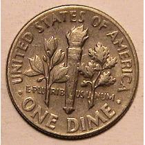 Moneda - 1 Dime - 10 Centavos Usa - Año 1965