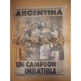 Clarín Deportivo 1991 - Argentina Campeón De América