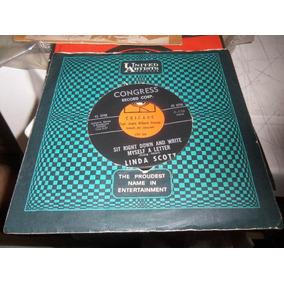 Compacto Vinil Linda Scott - 45 Rpm - Ref 105
