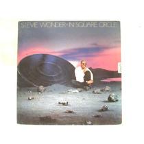 Stevie Wonder In Square Circle Lp Vinil Disco Motown 1985