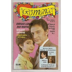 Revista Fotonovela Daniela Romo Romance # 1 De 1980
