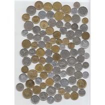 Argentina Lote De 100 Monedas Diferentes