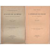 2 Folletos Cañerías Agua Potable Y Caños De Plomo. 1914 / 15