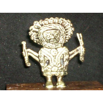 Escultura Maya Bronce