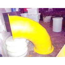 Curva Codo Plastico De 90° Para Pelotero Laberinto Mangrullo