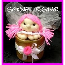 Souvenir 10 Cajas Con Hada Angel Muñeca Soft