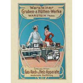Poster De Propagandas Antiguas - Cocina - 66 X 47 Cm