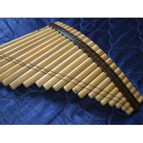 Flauta De Pan Profesional De Bambu De Peru Simil Leo Rojas