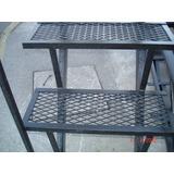 Escalera Recta O Caracol En Metal Desplegado 3x60 Ciudadela