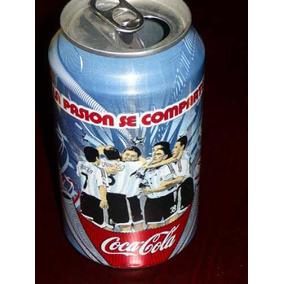 Coca Cola Lata La Pasion Se Comparte Año 2007 Vacia