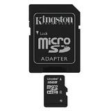 Tarjeta De Memoria 16gb Microsd Sdc4/16gb Kingston
