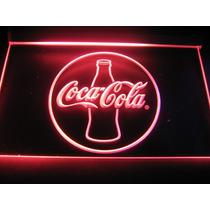 Cartel Coca Cola Luminoso Luz Led Acrilico Colgable