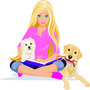 Adesivos Da Barbie Impressos E Recortados Só R$45,00 1metro