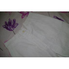 Pantalon Mujer Lino Portsaid - Talle 38