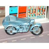 Moto Matchbox 4 C-1 Triumph Motorcycle & Sidecar Año 1960