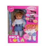 Holal Lola Muñeca Camina Y Habla Original Cariñito