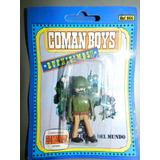 Juguete Coman Boys Modelo Soldado Del Mundo