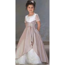 Hermoso Vestido Para Una Super Princesa Talles-6-7-8-9