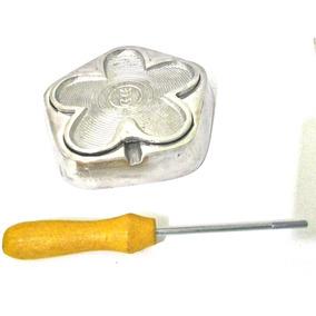Kit De Frisadores Em Alumínio Fundido E Polido Mais Apostila