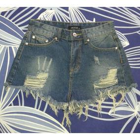 Shorts Jean/blanco/bordados/última Moda/verano 2017