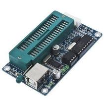 Programador Usb De Microcontroladores Pic Con Zocalo Zif Dip