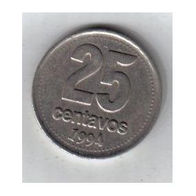 Variante 25 Centavos De 1994 Os Unidas !!!!!!!!!!!!!!!!!!!
