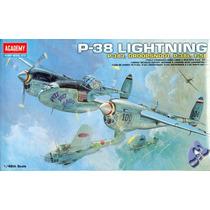 Avião P-38 Lightning 1/48 Academy Tipo Kit Revell E Tamiya