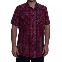 Camisa Xadrez Masculina Lee Kenny Western 66ar85040