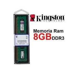 Memória 8gb Kingston Ddr3 1333 Mhz Pc10666 - Pente Kingston