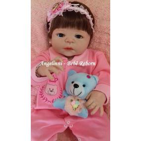 Bebê Reborn Aurora - Pronta Entrega - A Mais Vendida