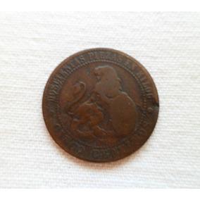 ººº España Antigua 5.- Centimos Año 1870 ººº #324